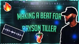 Making A Beat For Bryson Tiller/Tory Lanez  | R&B/Trap Soul (FL Studio 20 Tutorial)