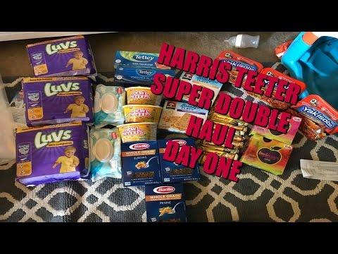 HARRIS TEETER SUPER DOUBLE HAUL DAY 1