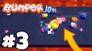 GOLD RANK INSANE BATTLES! | Bumper.io Part 3 (IOS/Android New .io Game)