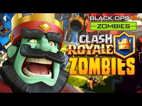 BLACK OPS 3 CLASH BATTLE ROYALE ZOMBIES MAP