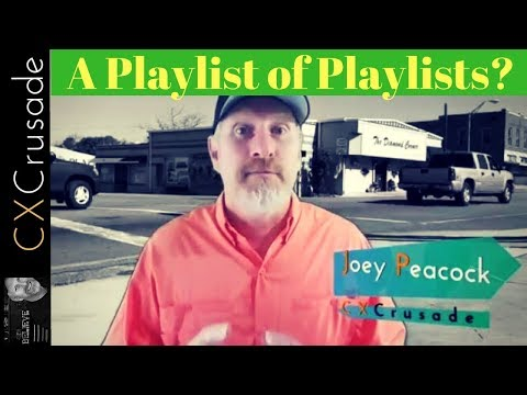 What's Going On Here? My YouTube Channel Playlist of Playlists