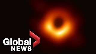 Scientists unveil the first photo of a black hole