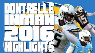 Dontrelle Inman 2016 Highlights