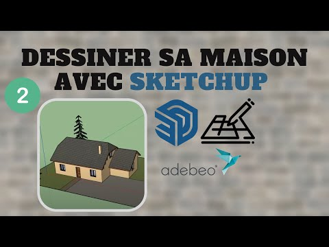 tuto dessiner sa maison avec sketchup chapitre 1 de doovi. Black Bedroom Furniture Sets. Home Design Ideas