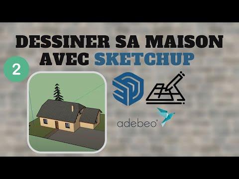 Tuto Dessiner Sa Maison Avec Sketchup Chapitre 1 De