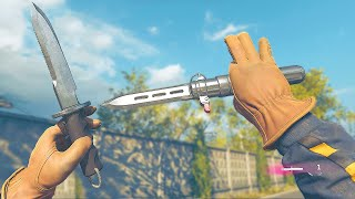 FINALLY.. They Added The BALLISTIC KNIFE IN WARZONE And It's 😍