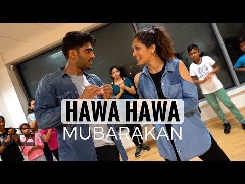 Hawa Hawa (DANCE Video Song) | Mubarakan | Arjun Kapoor, Ileana D'Cruz, | @JeyaRaveendran Choreo