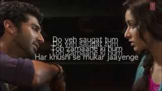 Hum Mar Jayenge Aashiqui 2 Full Song With Lyrics  Aditya Roy Kapur, Shraddha Kapoor