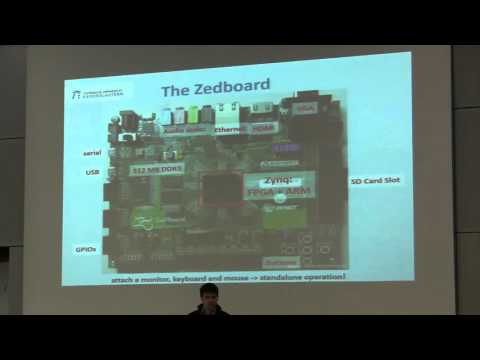 """Stefan Scholl, DC9ST: The Zedboard: A Modern """"System On Chip"""" for SDRs"""