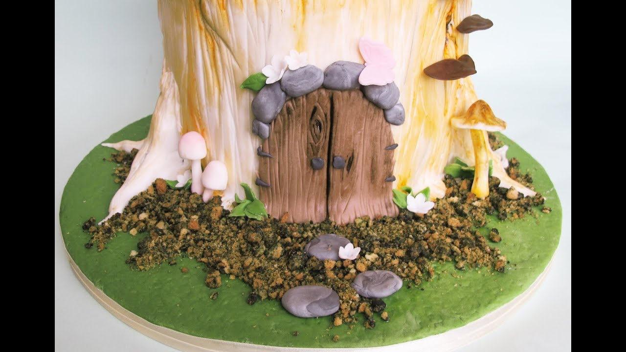 How to Make Edible Forest Soil   Fondant Wild Mushrooms ...