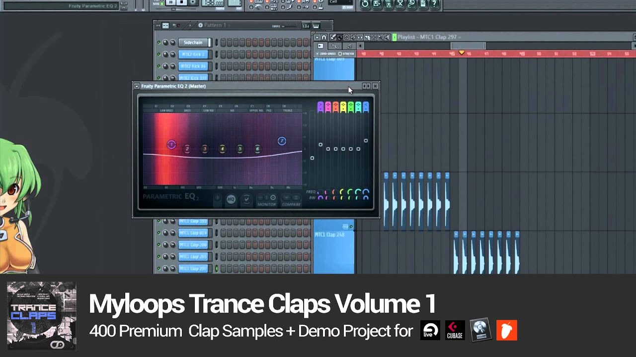 Trance Claps Volume 1 Sample Pack by Myloops - YouTube