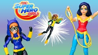 DC SUPER HÉROE de dibujos animados de CHICAS Héroe Niñas Bumblebee Problemas de Poder Reducir la Sorpresa de Vídeo Juguete Par