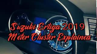 Maruti XL6 / Ertiga / Ciaz Meter Explained #ertiga #suzuki #meter #ciaz #baleno #arena #nexa