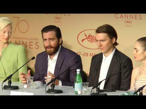 Jake Gyllenhaal - I didnt read the script.