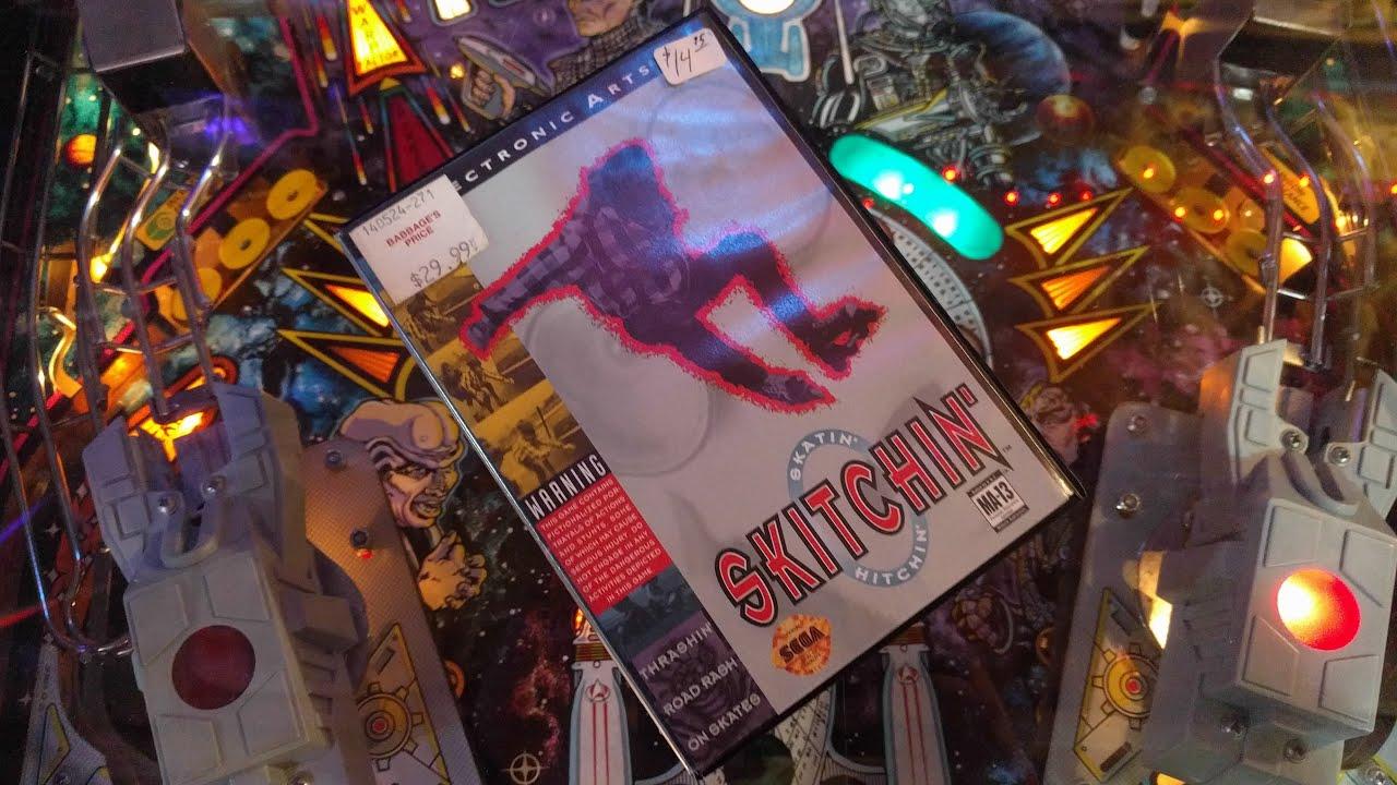 Playing Some EA Skitchin' On The Sega Genesis - YouTube