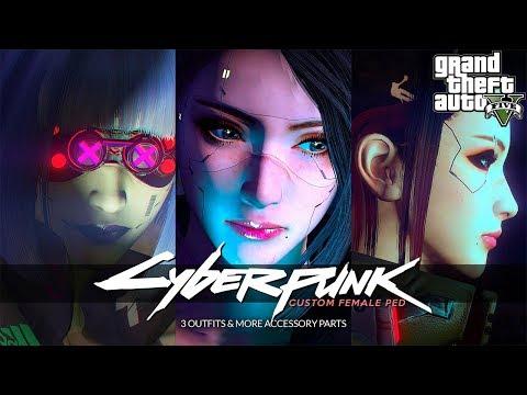 Cyberpunk Custom Female Ped