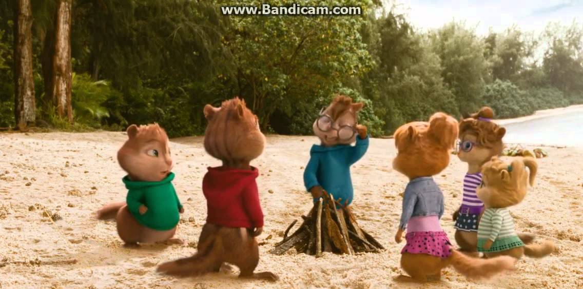 Alvin and The Chipmunks:Chipwrecked- Cute Chipmunk/Chipettes Moment #1