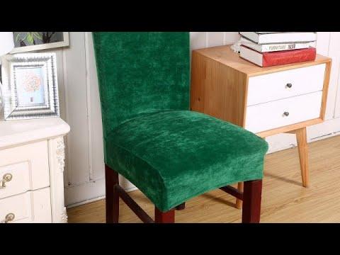 ТОП-5 модных чехлов на стулья из AliExpress