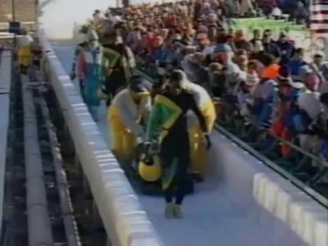 Crash of Team Jamaica at the Olympic Games in Calgary