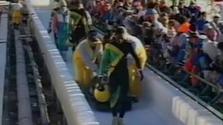 Crash Of Team Jamaica At The Olympic Games In Calgary Youtube