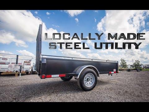 Mennonite Built STEEL Utility Trailers - ACTION TRAILER SALES