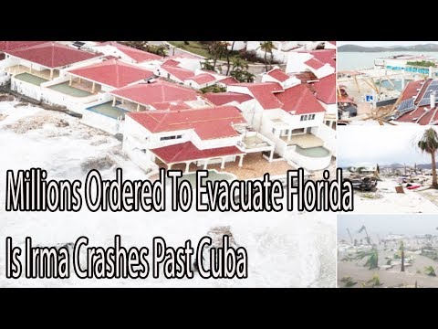 UPDATE Millions Ordered To Evacuate Florida Is Irma Crashes Past Cuba Daily News