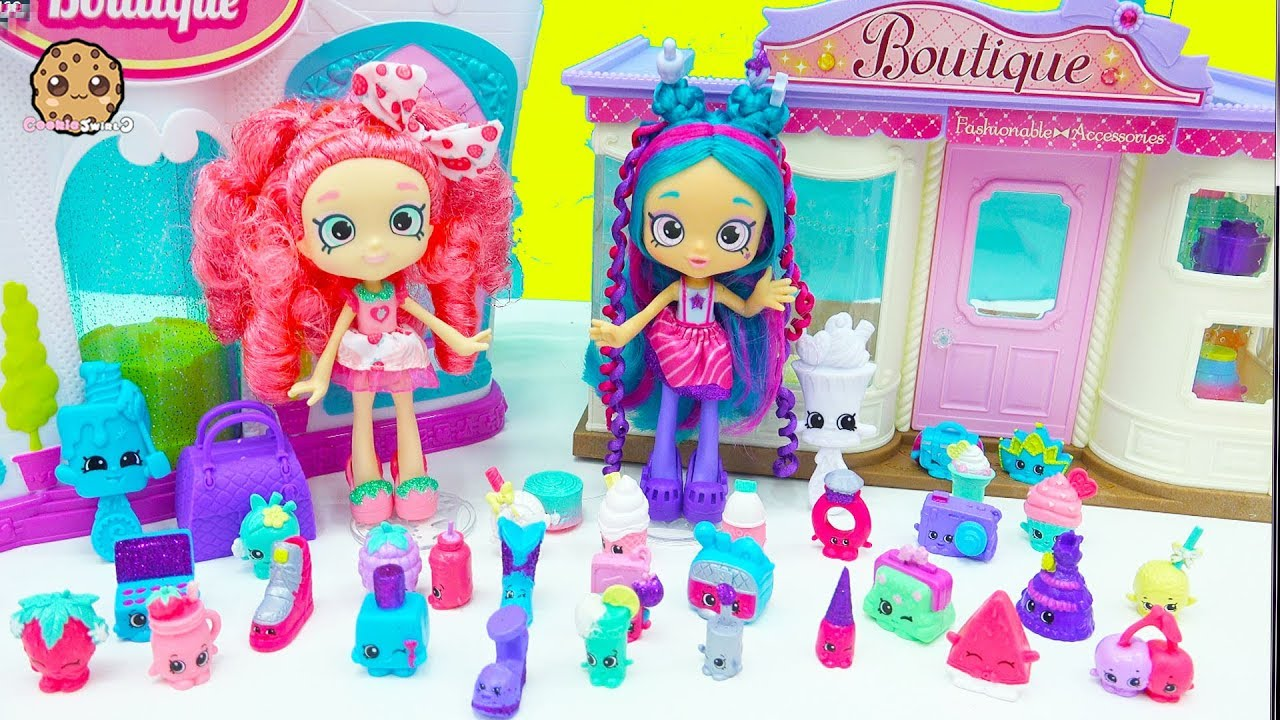 Exclusive Super Shopper Shopkins Shoppies Dolls Packs