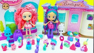 Exclusive Super Shopper Shopkins Shoppies Dolls Packs + Surprise Blind Bags