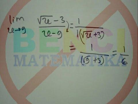 cara-cepat-limit-bentuk-akar-part1