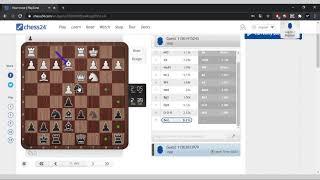 Впервые игра. на chess24. Шахматы онлайн обучение для начинающих