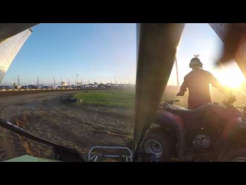 Miami County Speedway Heat Race Wing Class 9-3-2016