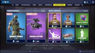 SHOP FORTNITE ITA NEW SKIN FIGA ON TODAY 25 January SEASON 7