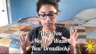 Why You Need to Wash New Dreadlocks