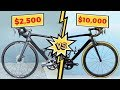$2,500 VS $10,000 Road Bike | What's behind a $7,500 Difference?