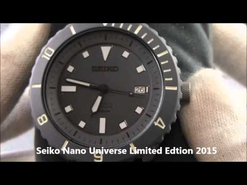 Seiko Nano Universe Limit Edition 2015 Watch Review by WatchesTokyo