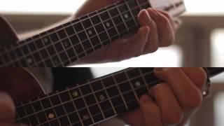 Iron & Wine - Flightless Bird, American Mouth (ukulele instrumental + improvisation)