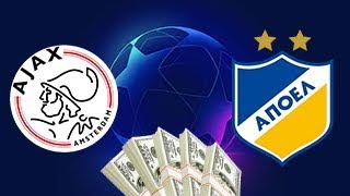 28 Aug 20:00. Ajax vs Apoel Nicosia. UEFA Champions League Qualifying