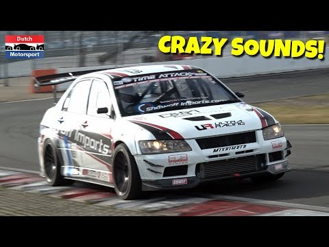 Modified Cars going Crazy on Track! – 600HP Skyline, 600HP Lancer Evo, BTCC VW Golf, 400HP Civic K24