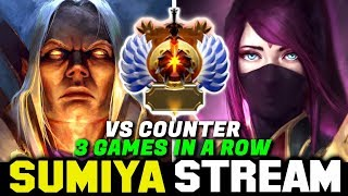 How to Deal with Counterpick TA in Immortal Rank | Sumiya Invoker stream Moment #1242