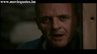 A census taker once tried to test me I ate his liver with some fava beans and a nice Chianti