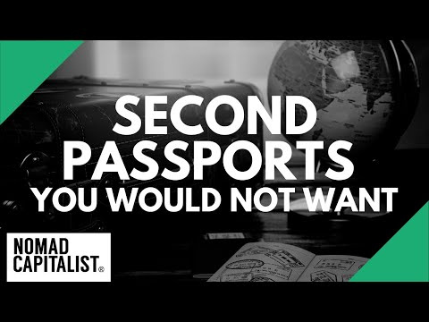 Second Passports I Would NOT Accept (Even For Free)