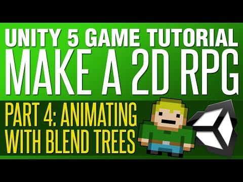 Unity RPG Tutorial #4 - Blend Tree Animation