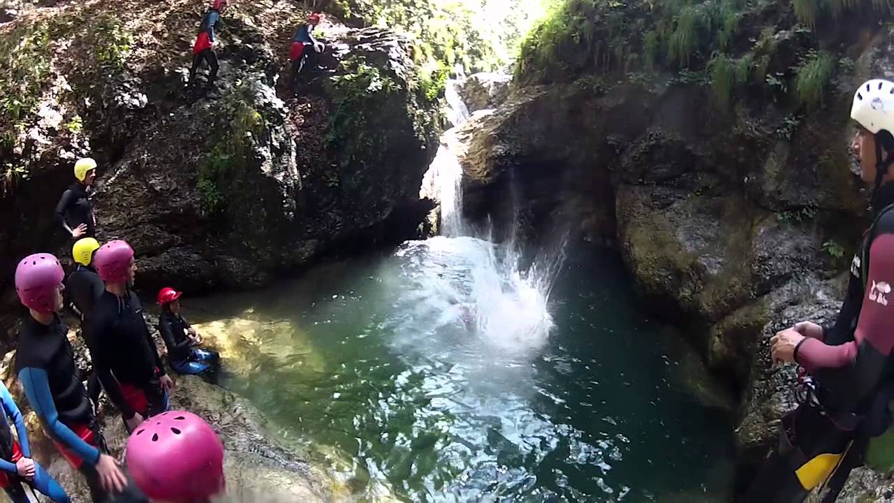Canyoning Susec Soca Valley