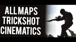 (MUST HAVE) Black ops 2 - Trickshot Cinematics ALL MAPS (WITH SOLDIERS) | 60 FPS