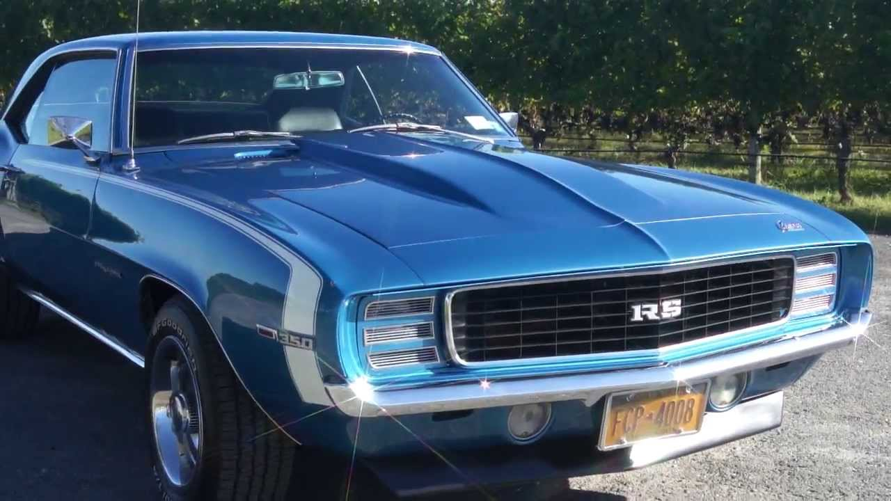 1969 camaro rs for sale matching drive train original hideaways loads of new parts youtube. Black Bedroom Furniture Sets. Home Design Ideas