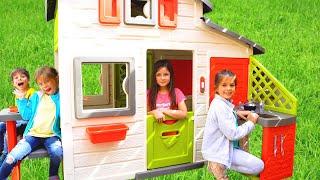 Kids Build Toy House I KLS Nursery Rhymes & Kids Songs