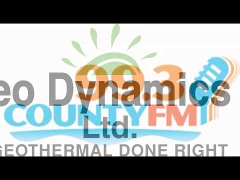 Geo Dynamics Free Geothermal Seminar ad on 99.3 County FM