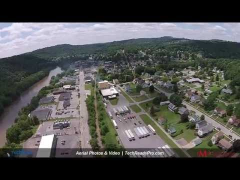 Aerial Photography New Bethlehem PA || TechReady