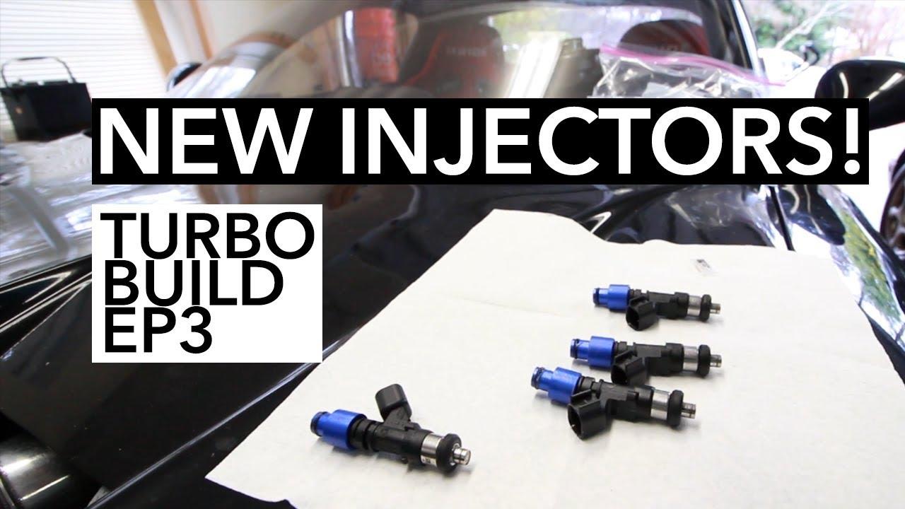 How to install and setup bigger fuel injectors - Miata Turbo Build EP3