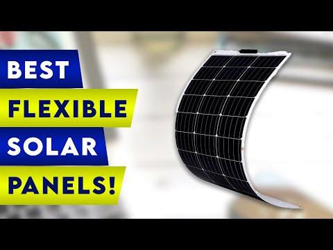 5 Best Flexible Solar Panels 2021!